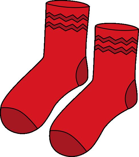 Pair clipart Of Red of Socks Socks