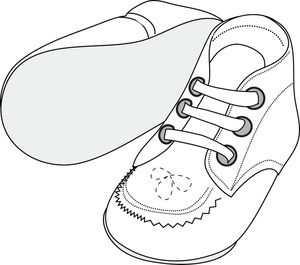 Pair clipart baby shoe Clipart of Baby baby pair
