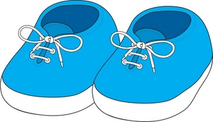 Pair clipart baby shoe  Shoes Baby Clipart