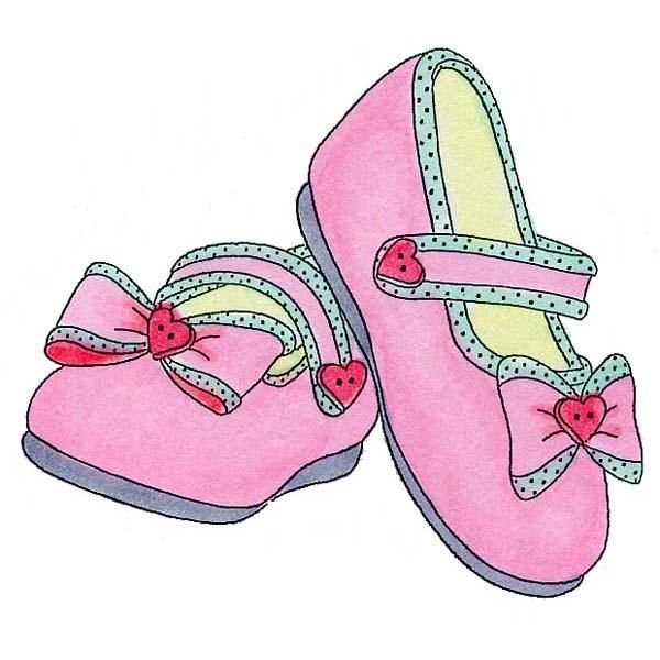 Sandal clipart for kid #1