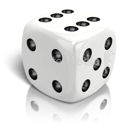 Dice clipart objects Rolled Dice  Great Six