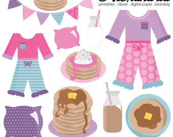 Pair clipart winter sock Sleepover and Pancakes & Graphics