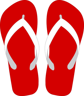 Pair clipart slipper Red resume written No flops