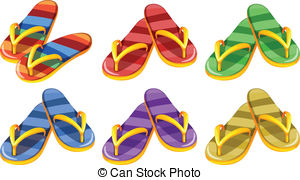 Pair clipart slipper Pairs and slippers Six Slippers