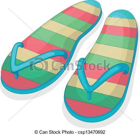 Pair clipart slipper Of a colorful pair pair