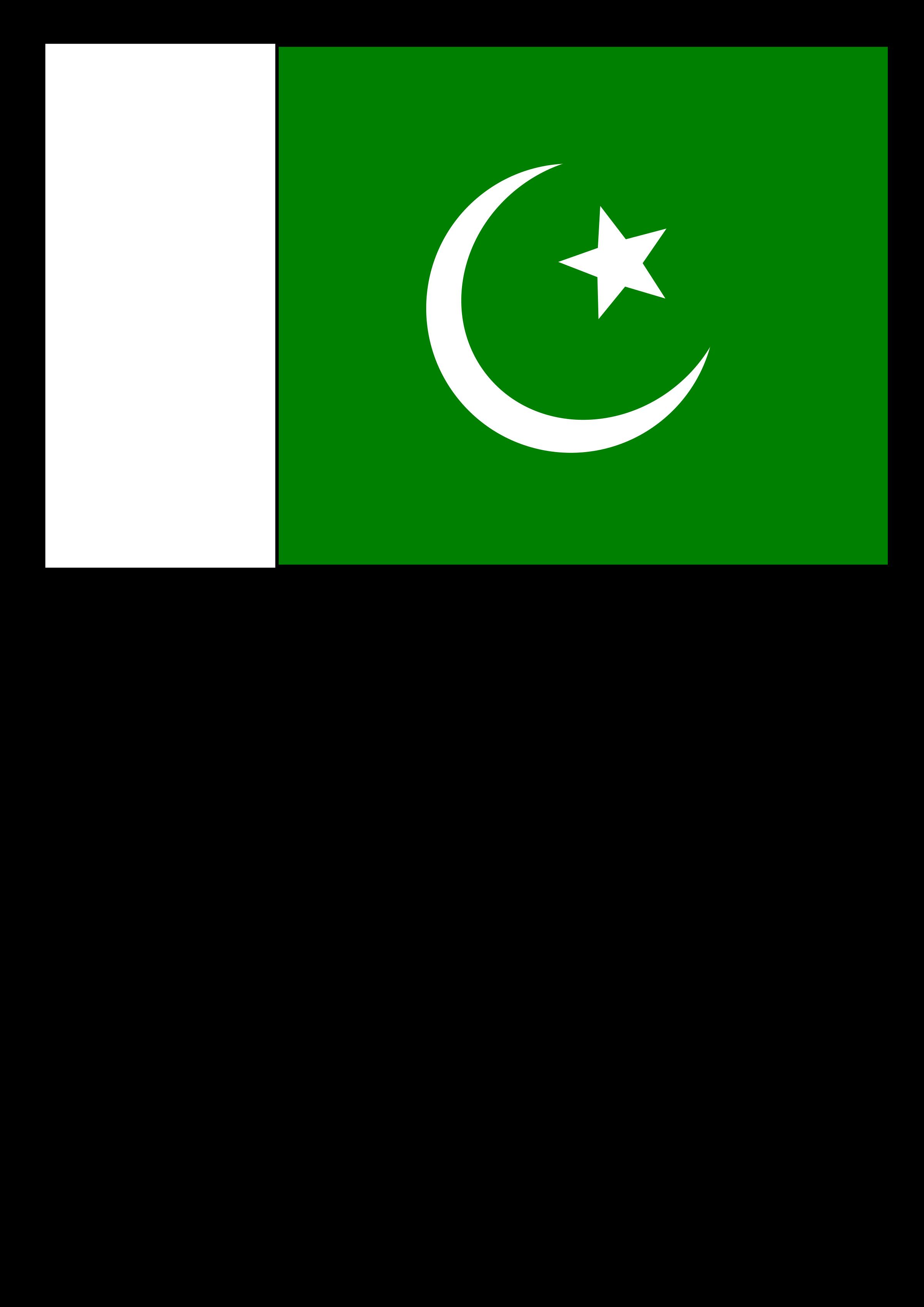 Pakistan clipart Of Flag Flag of Pakistan