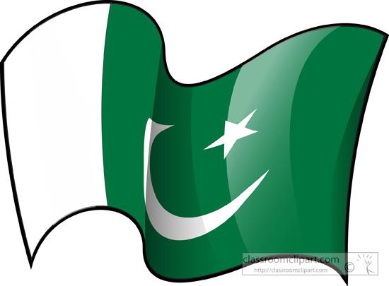 Pakistan clipart Search Graphics World flag Pakistan