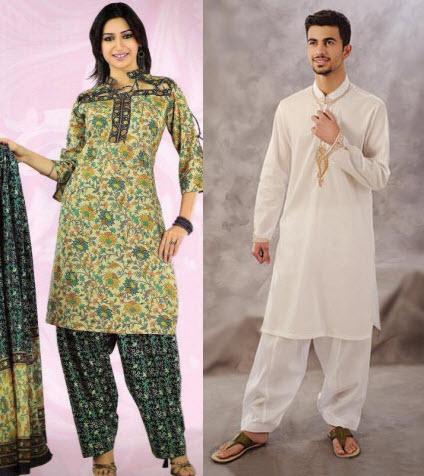 Pakistan clipart national dress pakistan #6