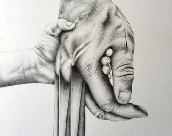 Pakistan clipart pencil sketch Drawings Logan Etsy Illustrations Pencil