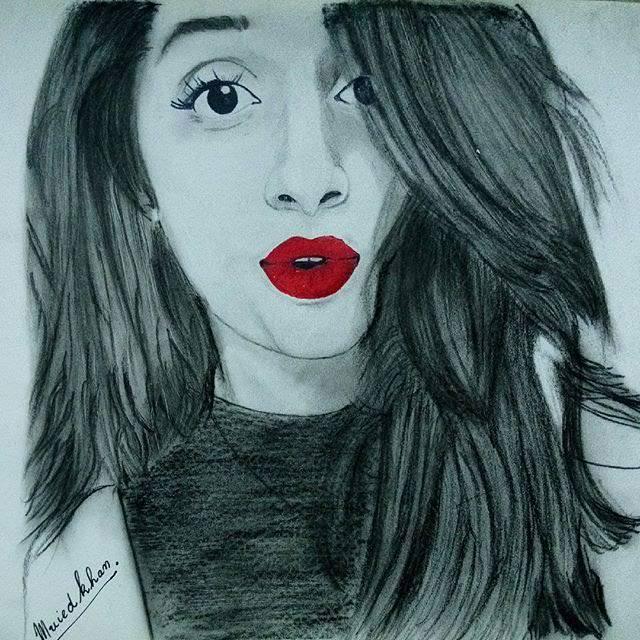 Pakistan clipart pencil sketch Sketch Pencil Celebrities Pakistani of