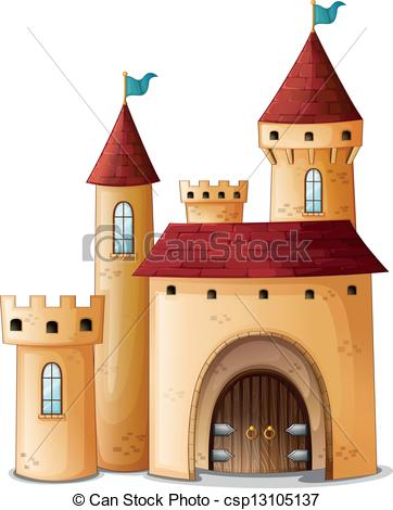 Palace clipart Beautiful of  Vectors csp13105137