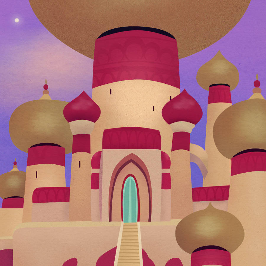 Palace clipart agrabah #12
