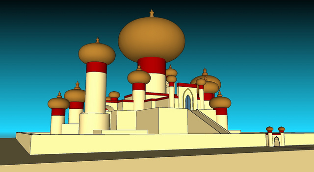 Palace clipart agrabah #8