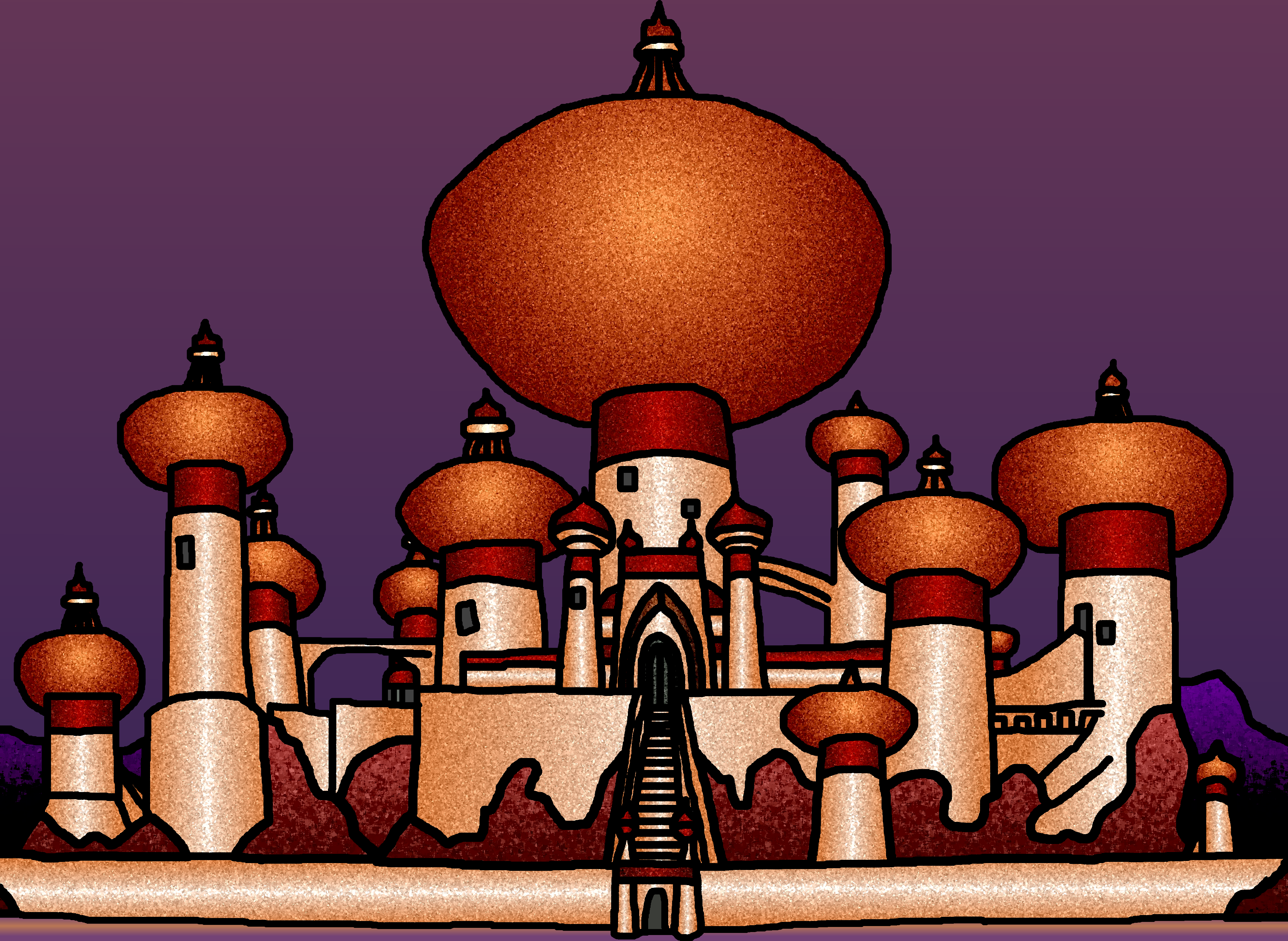 Palace clipart agrabah #13