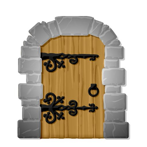 Door clipart cute door #12