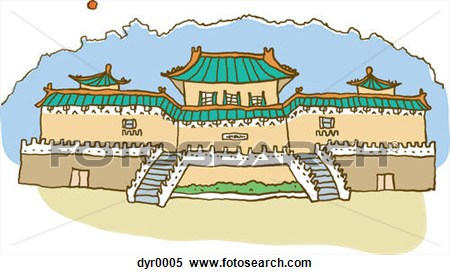 Asians clipart palace Chinese Clipart  Palace