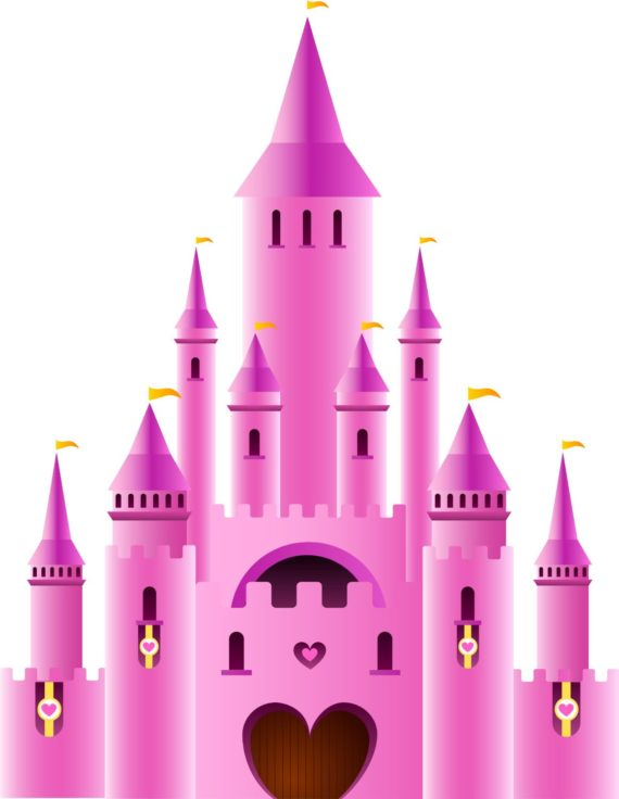 Palace clipart disneyland castle #12