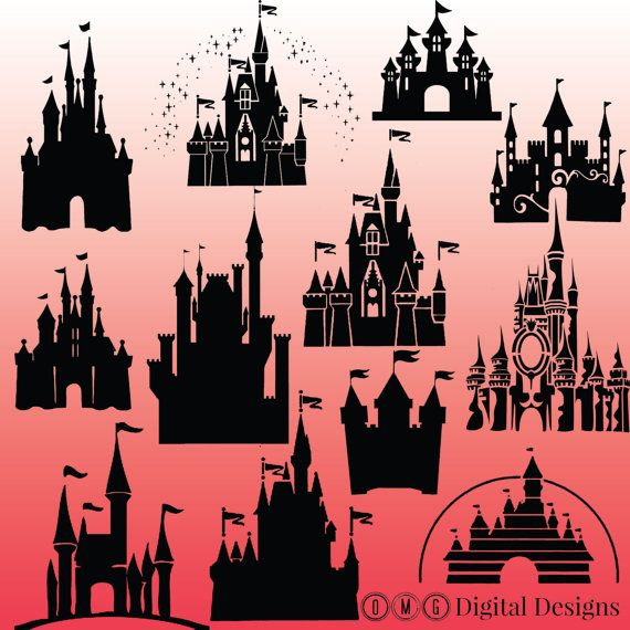 Palace clipart disneyland castle #10