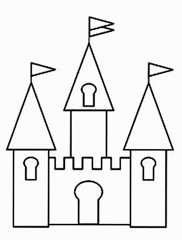 Palace clipart disneyland castle #7