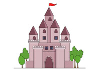 Castle clipart scenery Free castle Clipart Art and