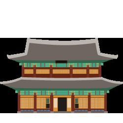 Palace clipart korean #9