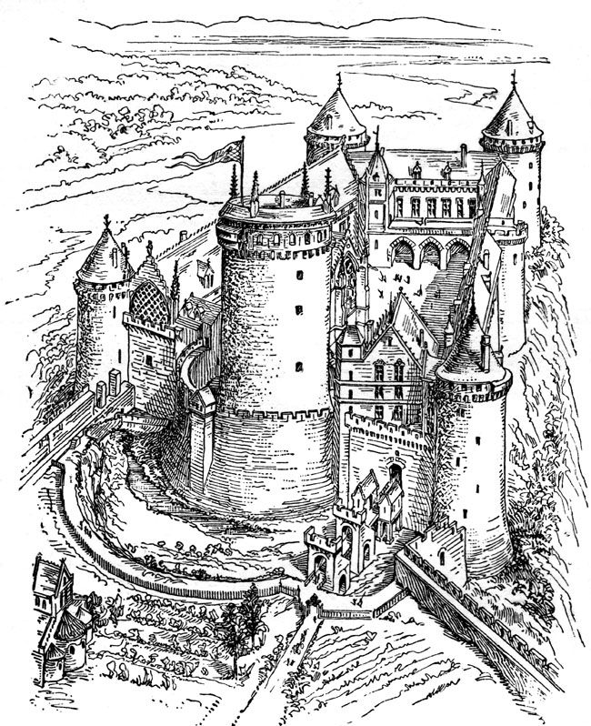Palace clipart medieval village The In 74 on Pinterest