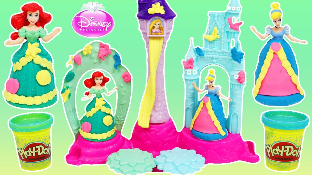 Play Doh Cinderella Dough! DISNEY
