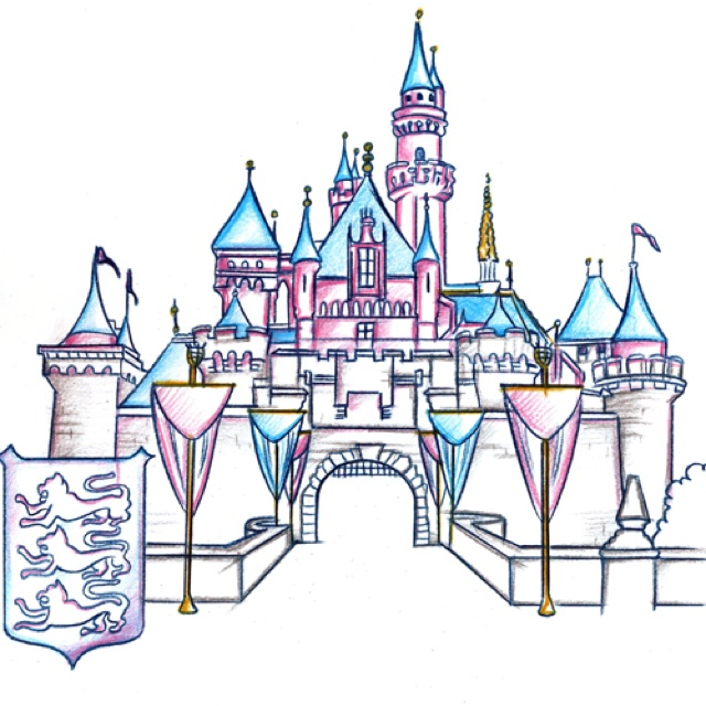Palace clipart sleeping beauty castle To draw Sleeping on totally