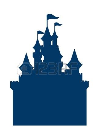 Castle clipart magic kingdom Disney Clip Clipart Silhouette castle