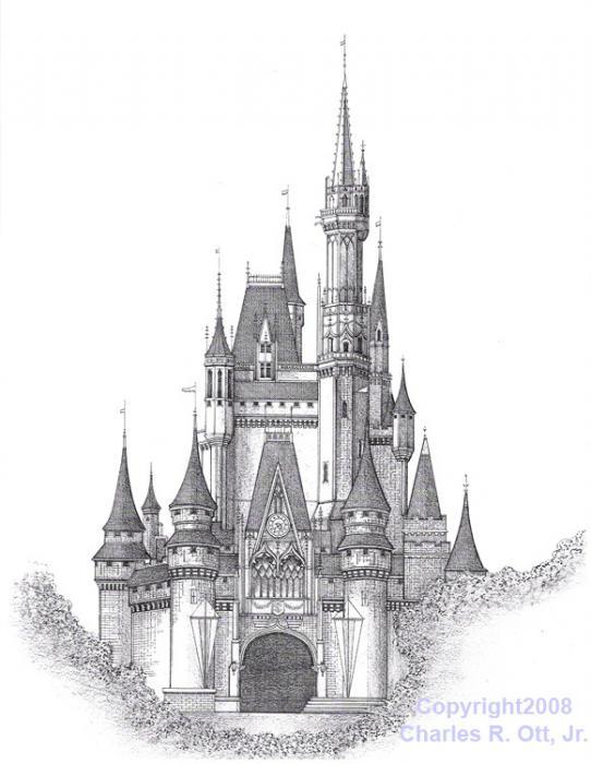 Amd clipart castle Art Clip Clip Cinderella Castle