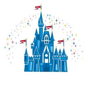 Disneyland clipart disney logo Castle Exclusive walt without castle