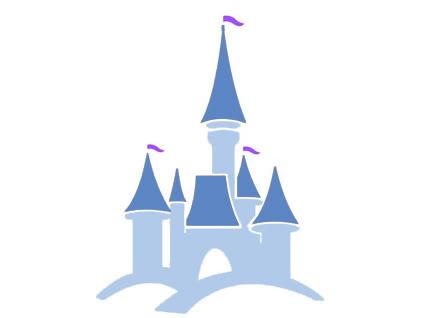 Drawn castle logo #2