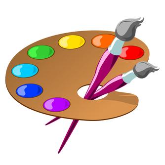 Color clipart artist palette Bay Palette Clip Artist Art