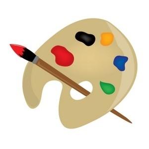 Palette clipart graphic design Clipart Artist Artist clipart palette
