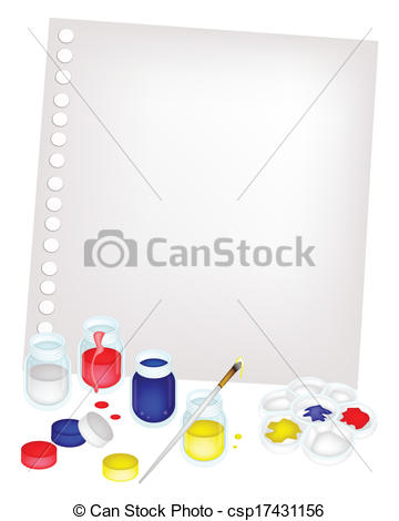 Palette clipart blank Jars Color with Blank of
