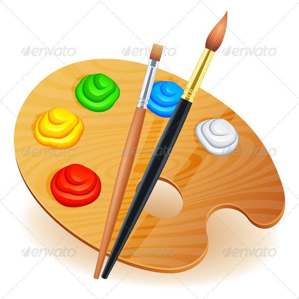 Palette clipart graphic design 5680041 Art 5680041 Graphic ·