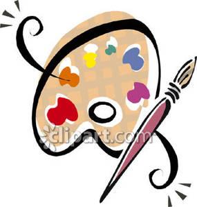 Palette clipart paintbrush Clipart Clip Clip Download Art