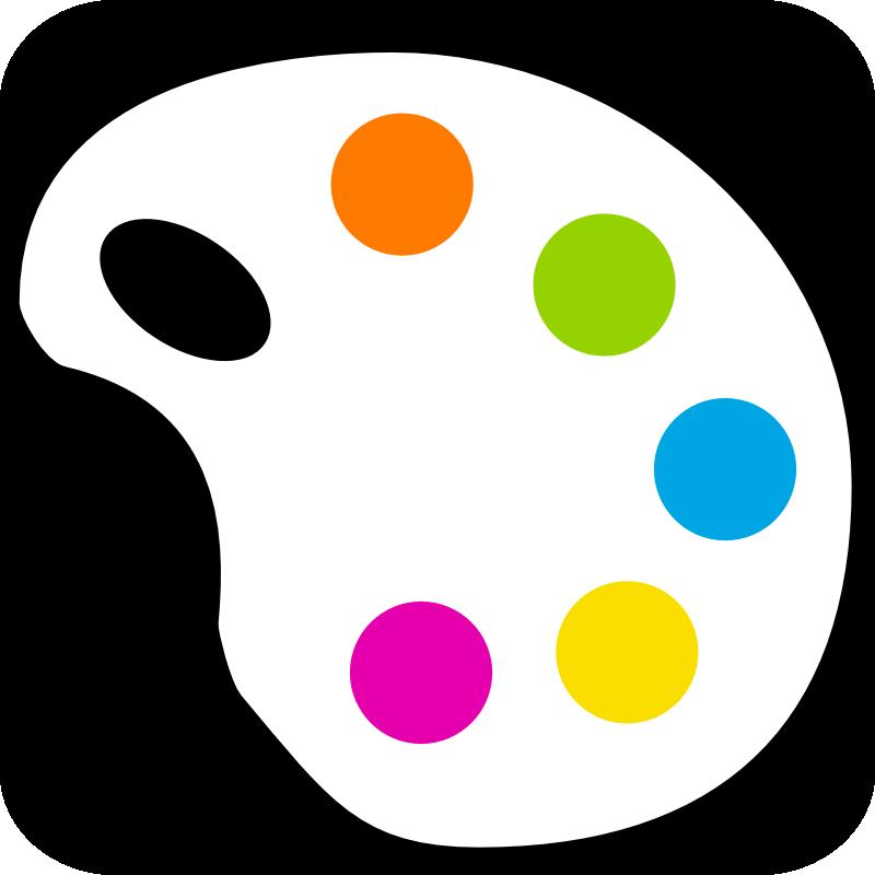 Palette clipart painting material Paint Clip Palette Art Clipart