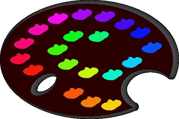 Palette clipart vector paint Online Paint Palette Tools Palette