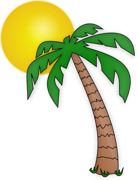 Palm Tree clipart Art Palm art palm tree