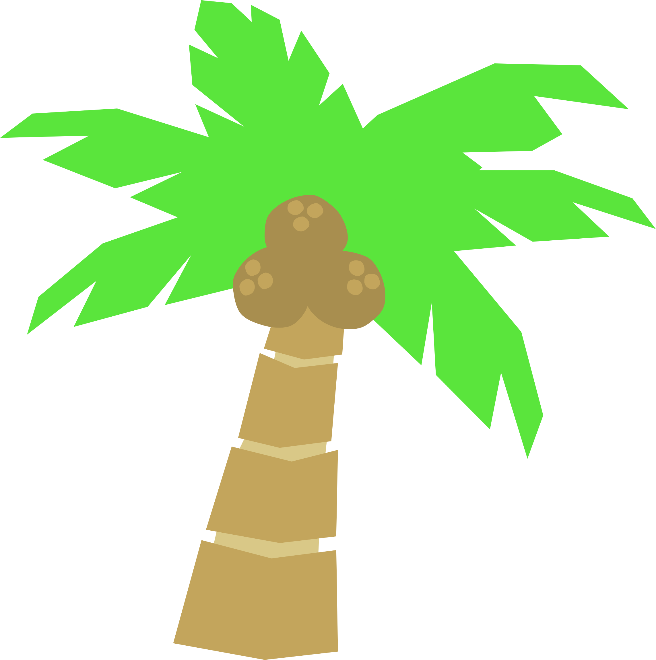 Palm Tree clipart Clip Palm clip cartoons tree