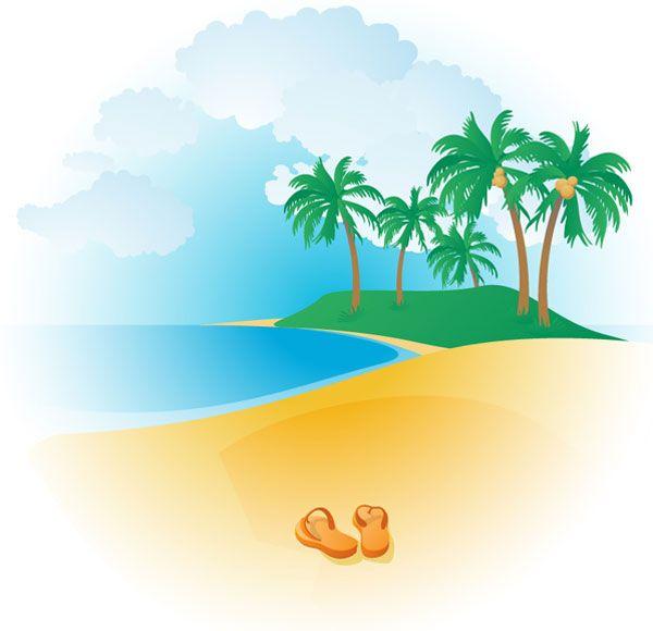 Palm Tree clipart beach theme Best 48 Beach Vector images