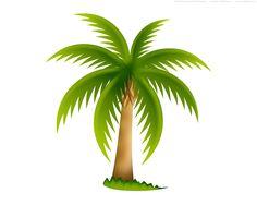 Palm Tree clipart beach theme Beach vector Clipart image Palm