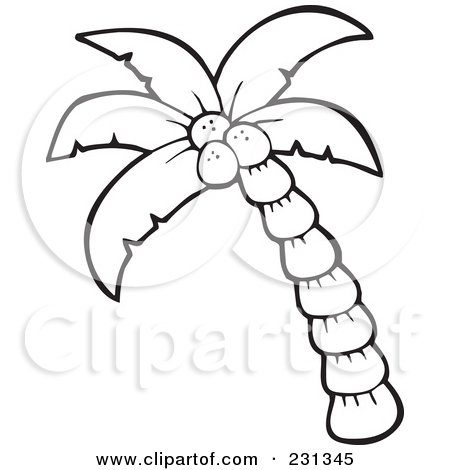 Palm Tree clipart drawn Outline Panda misstep%20clipart Images Art