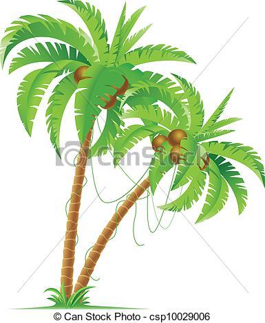 Palm Tree clipart drawn Clipart Palm  Palm trees