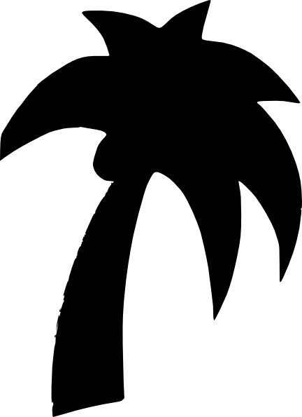 Palm Tree clipart drawn Art Palm Open Shapes Free