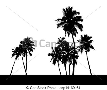 Palm Tree clipart group Group  of realistic group