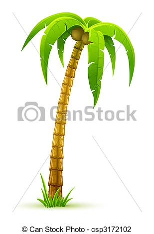 Palm Tree clipart isolated Tree  background palm of