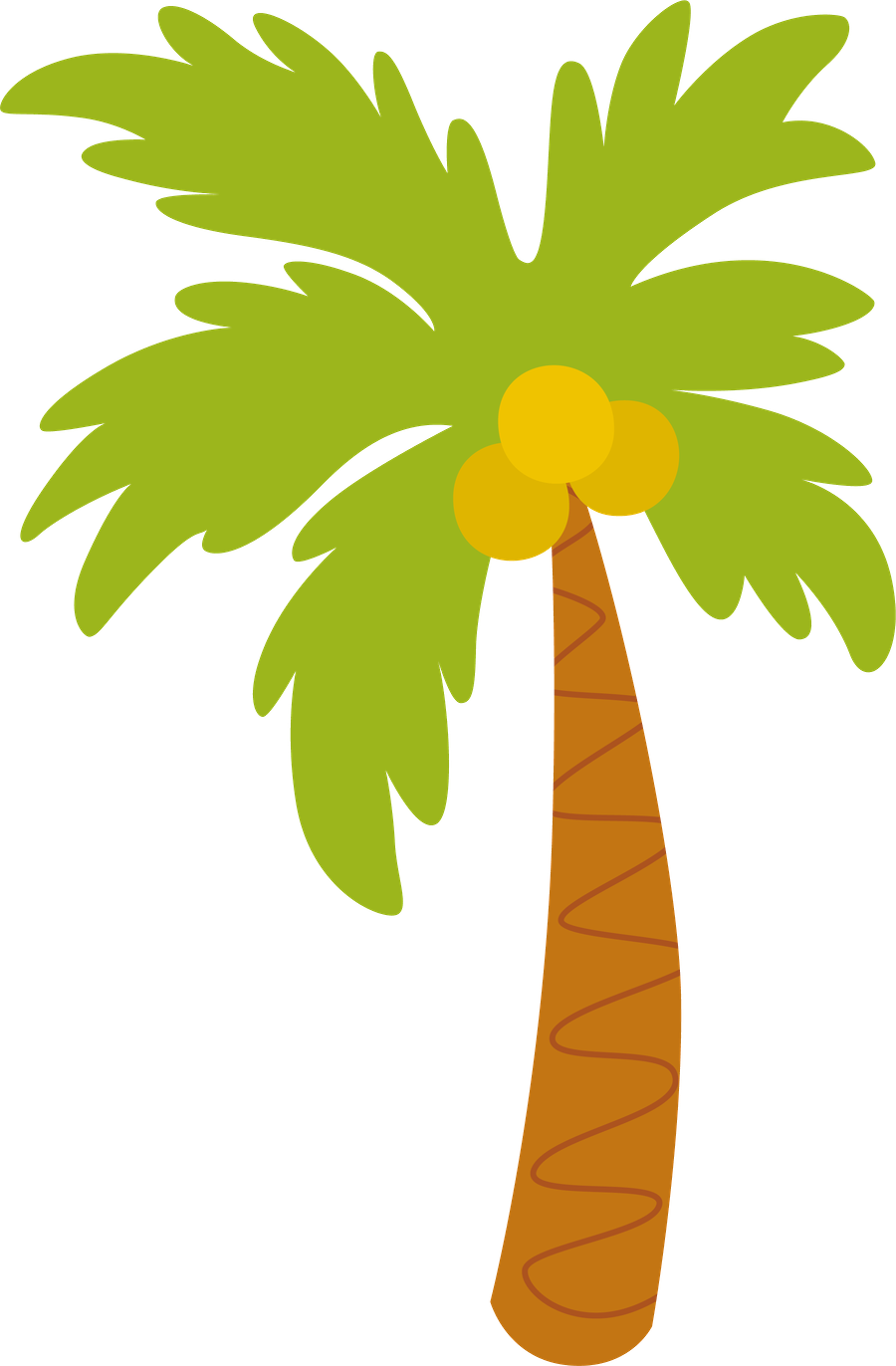 Palm Tree clipart caribbean food Flops Trees  clip Palm