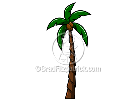 Plant clipart tall Tree of Palm Royalty Art